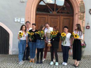 Siegerfoto in Bad Königshofen